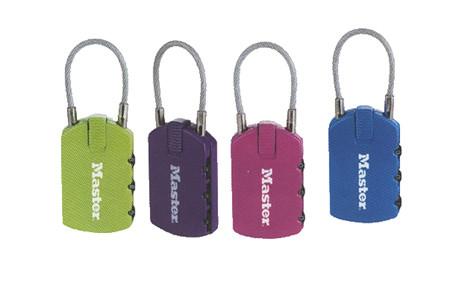 Candado identificador con combinacion de la marca master lock