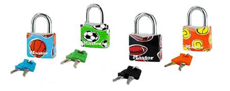 Candado con llave master lock ref. cnm9130eurdpsp