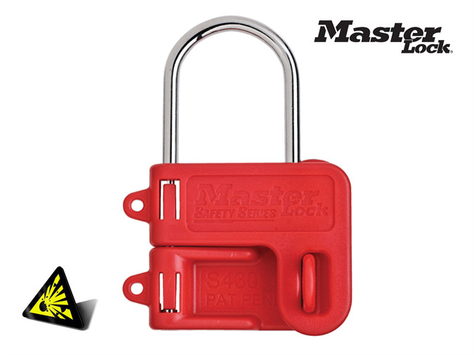 Tenaza candado para bloqueos master lock s430