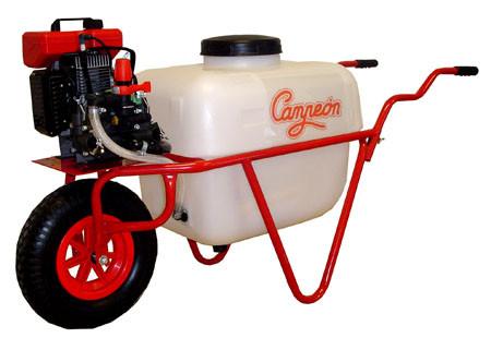 Carretillas pulverizadoras de campeon con  motor de 2 tiempos