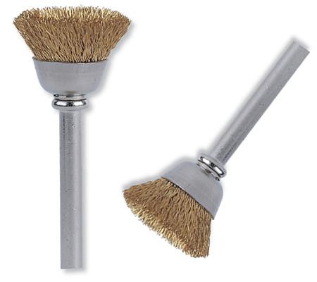 cepillo con forma de vaso para metales blandos como el oro, cobre o latón