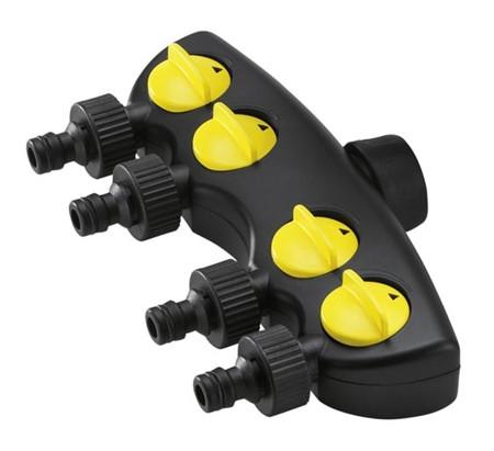 conector de riego con cuatro salidas de karcher
