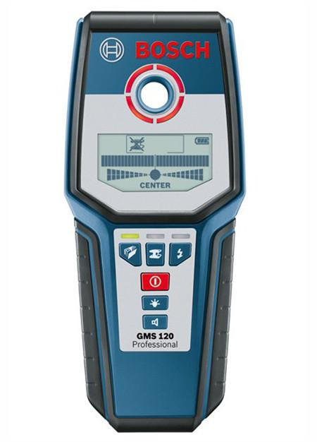 Detector de metales y cables bosch gms 120 0.601.081.000