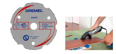 disco para madera de dremel s500