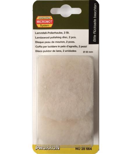 Disco de lana proxxon 28664