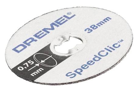Kit de discos de corte speedclic dremel sc409 2.615.s40.9jb