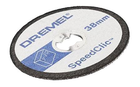 Disco de corte para plastico sc476 dremel ref. 2.615.s47.6jb