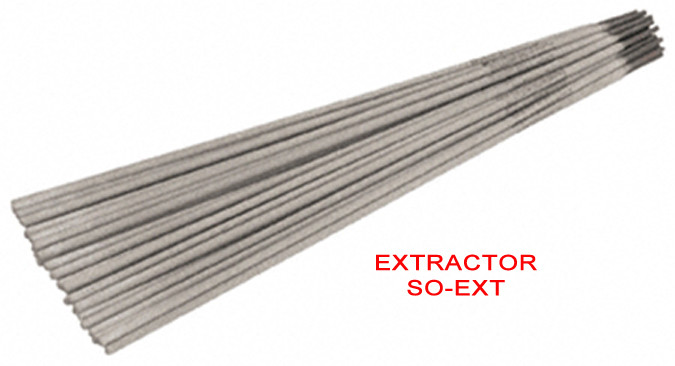 Electrodos extractor so ext