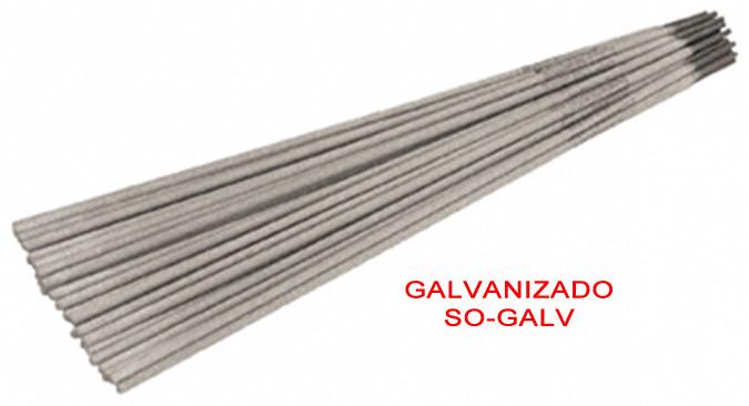 Electrodos galvanizado
