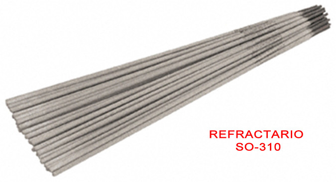 Electrodos refractario 310