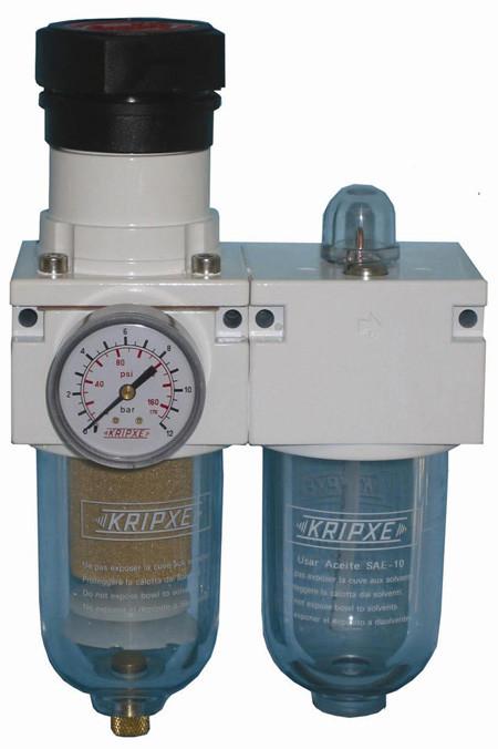 Regulador, Filtro y lubricador RLF-600 1/2  Kripxe