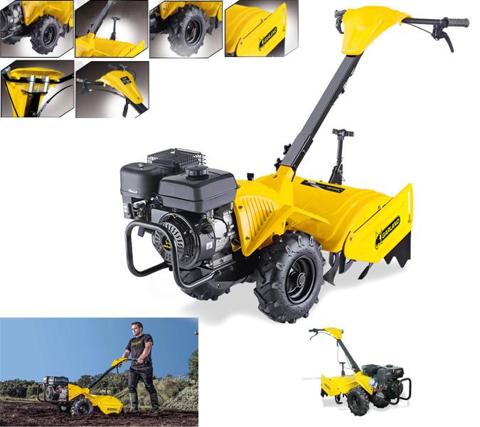 Motocultar Garland mula para labrar la tierra Cultivator 741-v17