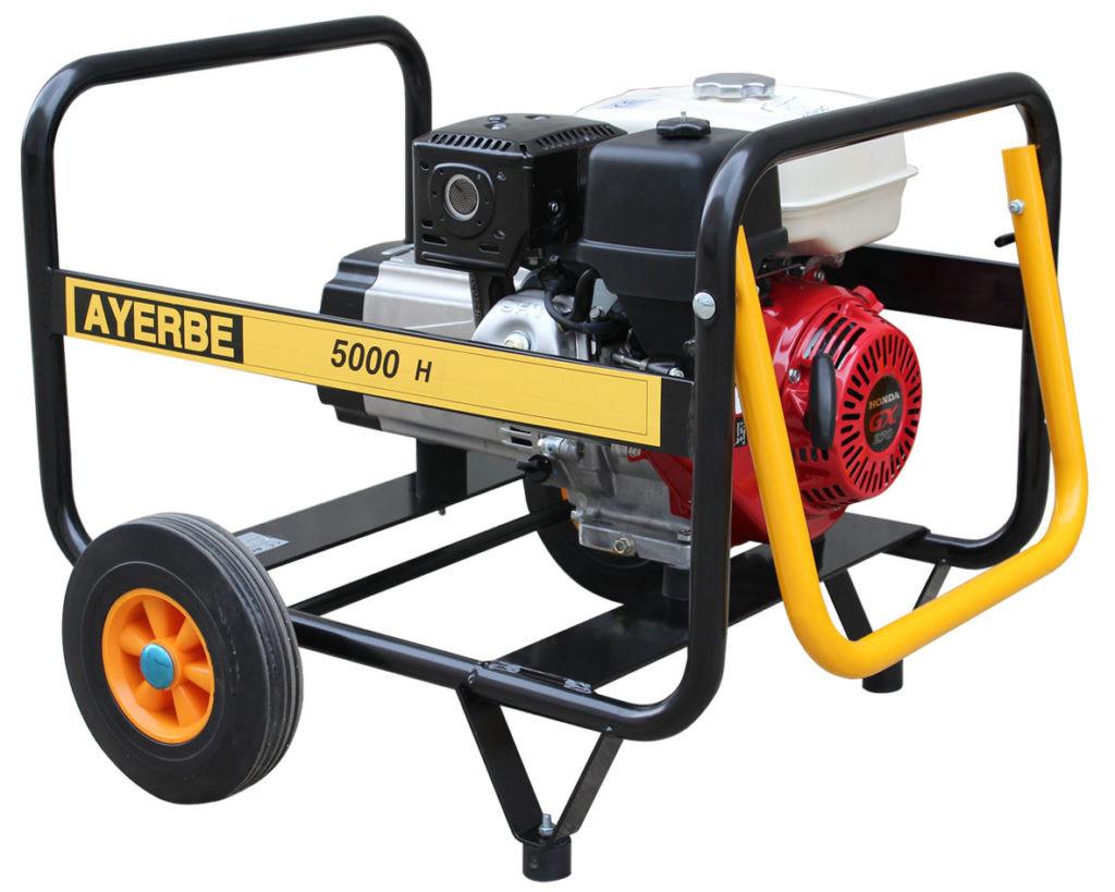 Generador Ayerbe 5000 manual