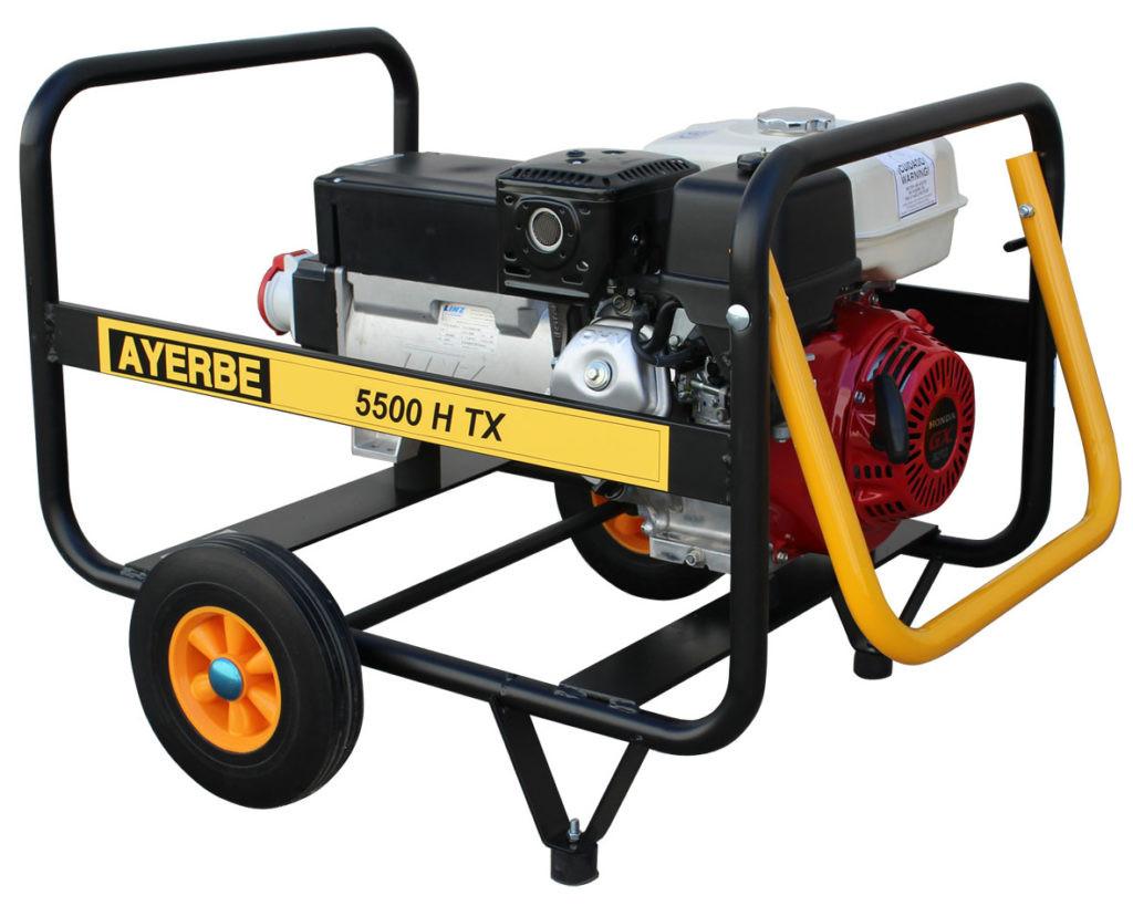 Generador Ayerbe 5500 manual motor honda