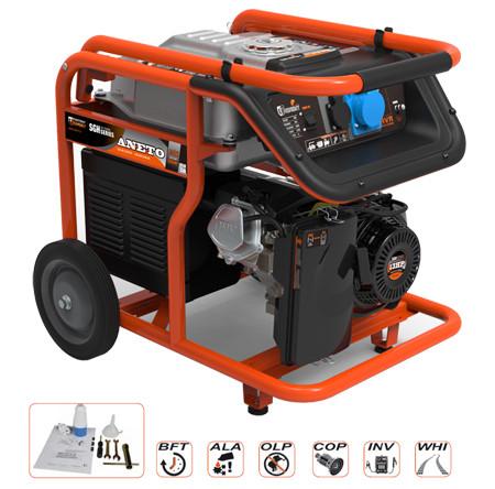 grupo electrogeno a gasolina para 5500 watios par uso domestico economico