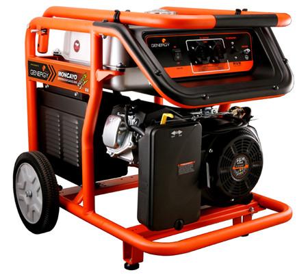Generador comercial Moncayo 4500 watios de la marca Genergy