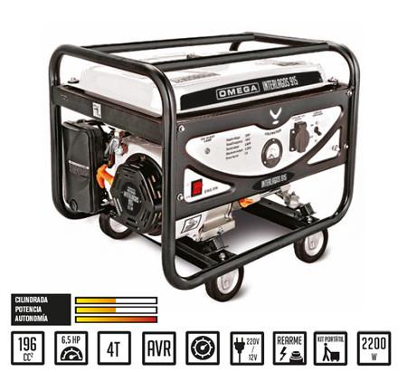 Generador gasolina Interlagos YH2500 OMEGA