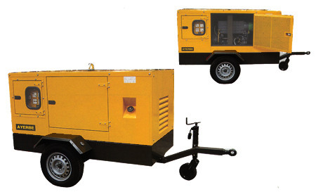 Carro para Grupo electrico Ayerbe de 100 KVA