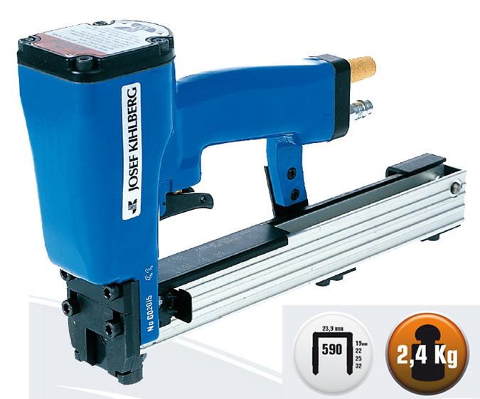 Grapadora neumatica profesional para palet y cajas JK 35/590 para grapa tipo 590