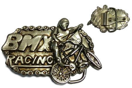 hebilla para cinturon de bmx racing metalica