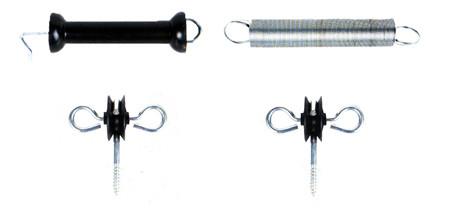 Conjunto aisladores puertas de cercas solter k0048.11031