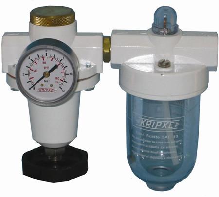 Regulador aire y lubricador RL-1/2  Kripxe