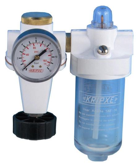 Regulador aire y lubricador RL-3/8  Kripxe