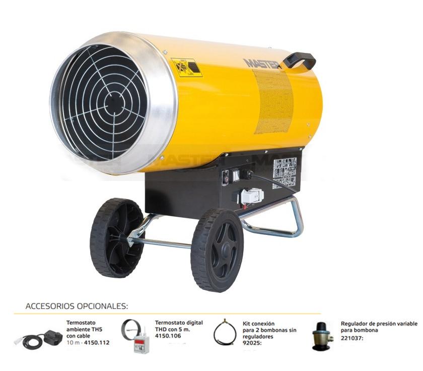 Master BLP-103 cañón calentador a gas electrónico