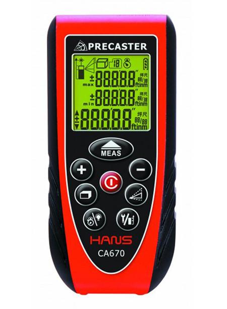 Medidor laser compacto ca600