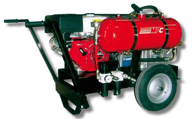 Equipo compresor a motor por combustion mpc