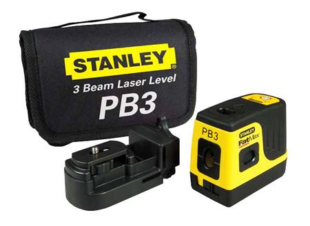 Nivelador de puntos laser stanley pb3 ref. 1-77-118