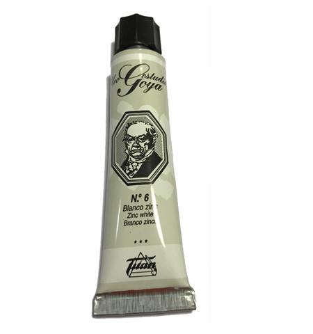 pinturas al oleo de titan goya blanco zinc numero 6