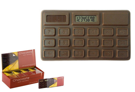 regalo original calculadora olor a chocolate