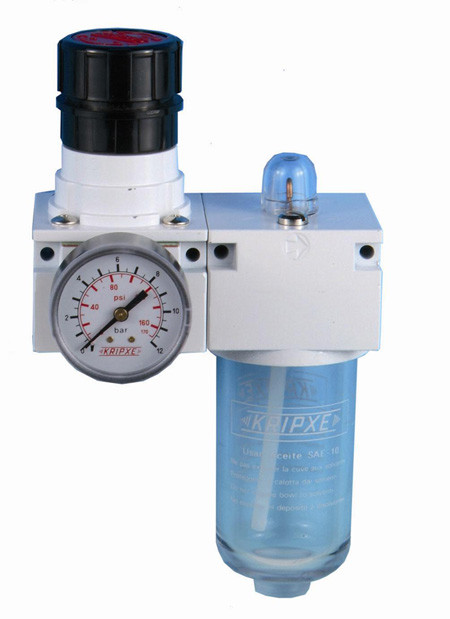 Regulador aire y lubricador RL-200 3/8  Kripxe