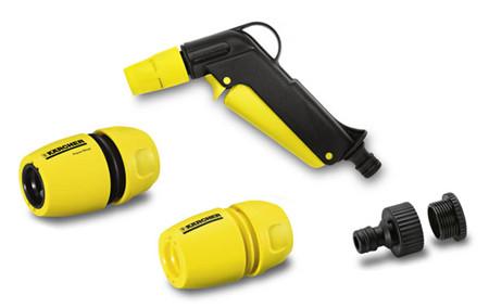 set de pistolas de riego para mangueras de jardin