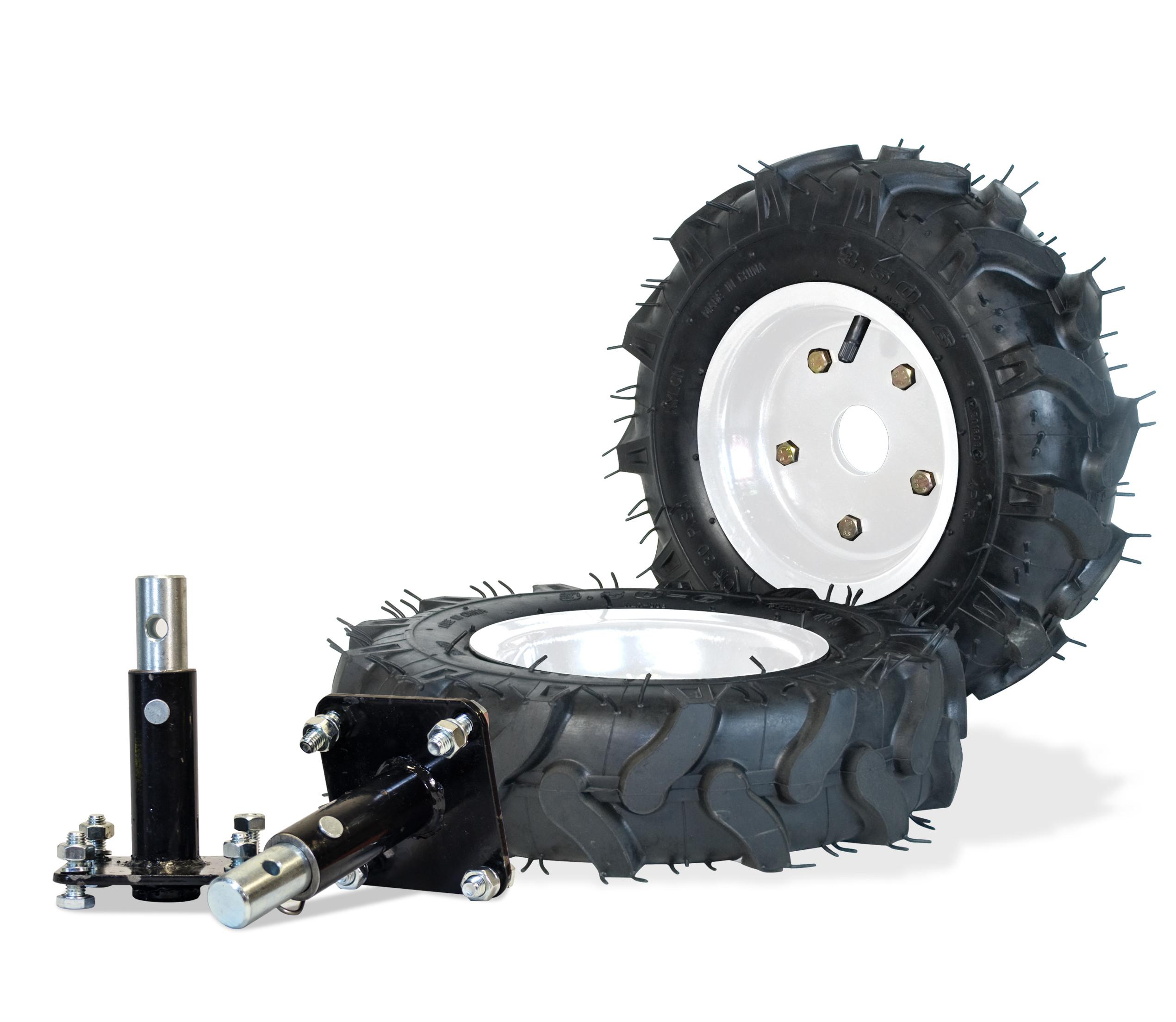 rueda neumatica motoazada