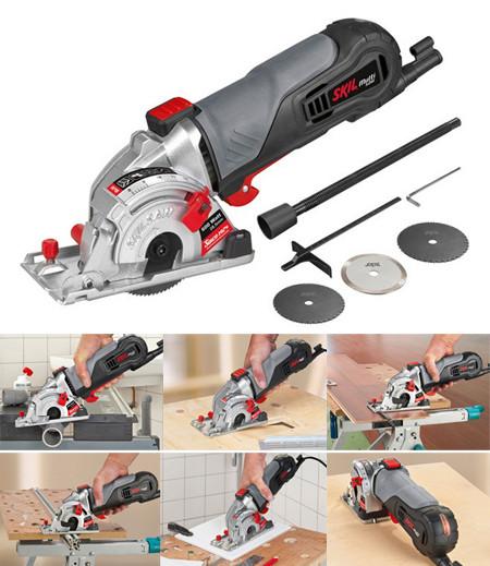 sierra circular para corte multimaterial de tamaño reducido para una excelente manejabilidad  Skil 5330aa
