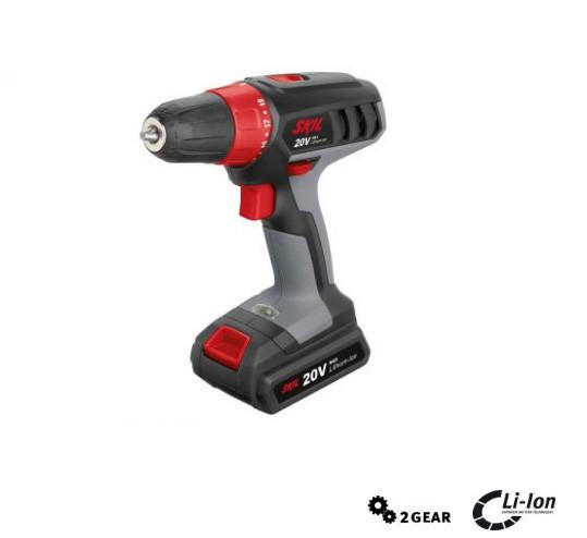 Taladro atornillador Skil 2832AA de agarre suave y empuñadura ergonomica