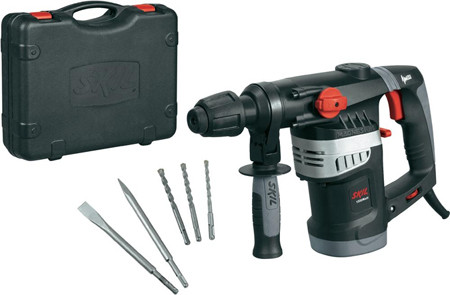 martillo perforador, percutor y cincelador con reducción de vibración.