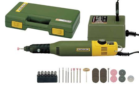 Conjunto para modelistas y grabadores proxxon 28515