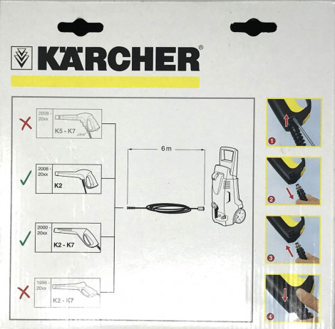 Plano de MANGUERA KARCHER REPUESTO 6 METROS 6.390-871
