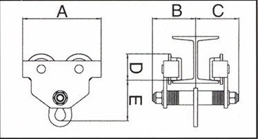 Plano de SOPORTE CARRO MANUAL AY-2000-CTM 580960