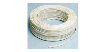 Cables - CABLE MANGUERA PLANA H05VVH2-F 2X1 BLANCO