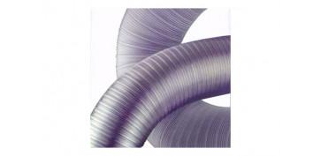 Ventiladores y extractores - TUBO COMPACT ALUMINIO EN TIRA Ø90-100/5 M
