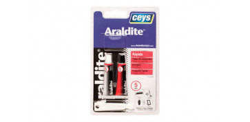 Adhesivos - ADHESIVO ARALDIT RAPIDO PEQUEÑO 5+5ML