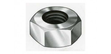 TUERCA INOX DIN 934 A-2 M-4