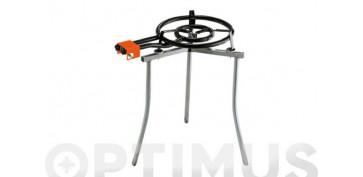 Electrodomesticos de cocina - PAELLERO GAS BUTANO/PROPANO 18/M.600