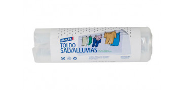 Textil y costura - SALVALLUVIAS TRANSPARENTE 150X280