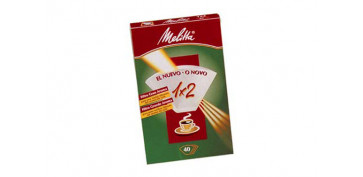 Coccion - PAPEL FILTRO CAFETERA MELITTA 1X2/40