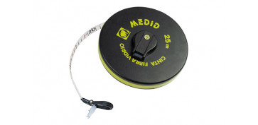 Medidores de distancias - CINTA METRICA FIBRA VIDRIO 20 MT